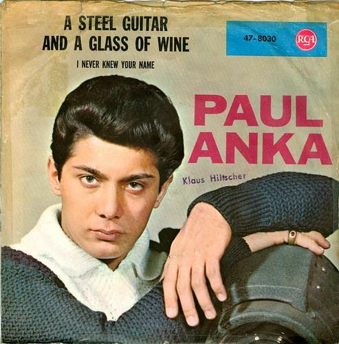 16 - Anka, Paul - A Steel Guitar And... - D - 1962