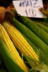 Corn, Mercado La Boquera / Spain, Barcelona (flydime) Tags: barcelona espaa spain corn market bcn catalonia mercado mais catalunya maize boqueria barcellona catalua msr  maz mas  laboquera