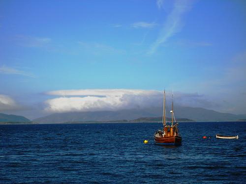 Crinan boat Scotland 2006