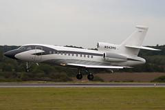 N343MG - Private - Dassualt Falcon 900 - Luton - 090921 - Steven Gray - IMG_8554