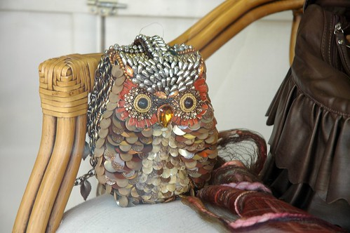 Owl Purse in Solvang Store