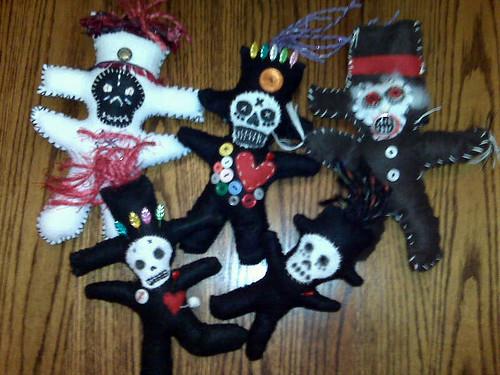 Halloween Voodoo Dolls