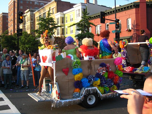dc's gay pride parade