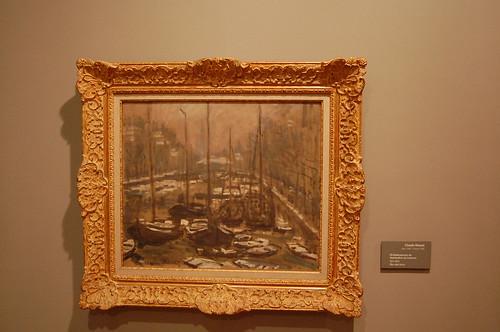 Un cuadro de Monet, donado por Botero