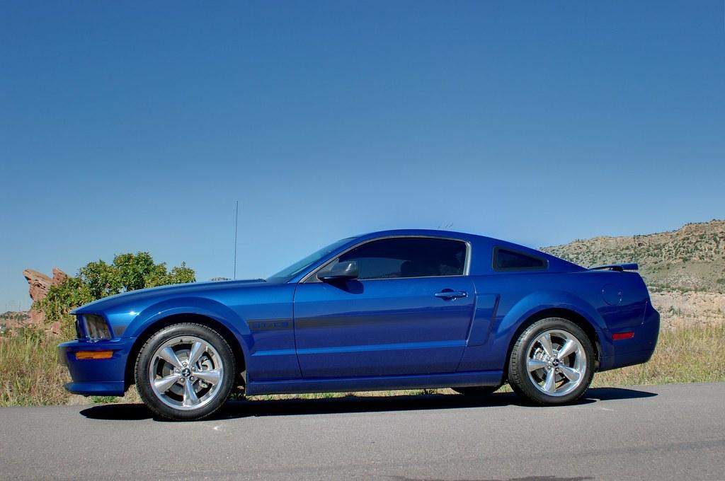 Mustang California Special >> 2007 GT/CS California Special - Vista Blue - Ford Mustang ...