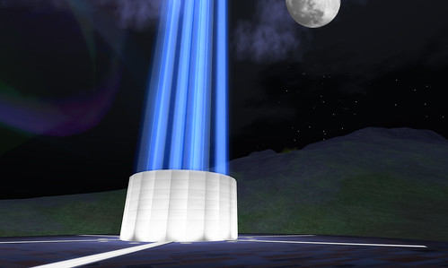 IMAGINE PEACE TOWER - Second Life by you.