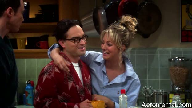 The Big Bang Theory S03E03 Penny homúnculo