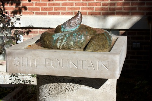 shit fountain