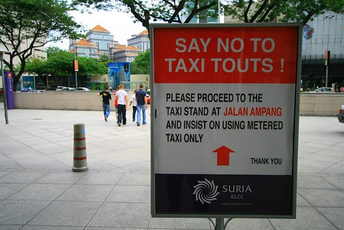 Say No To Taxi Touts!