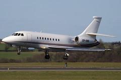 CS-DNS - 139 - Netjets Europe - Dassault Falcon 2000 - Luton - 090404 - Steven Gray - IMG_3146