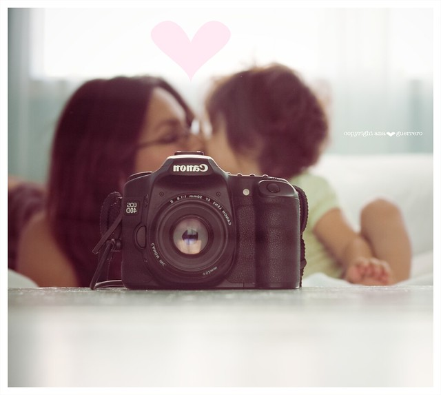 Motherly love behind the lens....