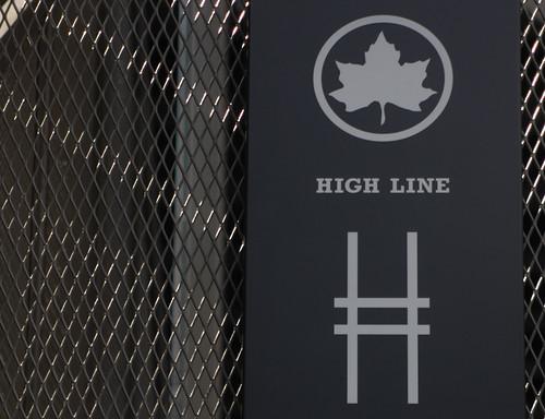 high line header