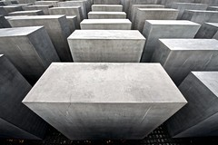 Holocaust Memorial Berlin (chrisps) Tags: city trip travel vacation colour berlin germany holocaust nikon memorial europe photojournalism jews nikkor murdered eisenman 1424 d3x