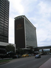 one half of the galt house (studio-s) Tags: horses vineyard kentucky racing louisville riverfront fountains churchilldowns indianfood fourthstreetlive galthousehotel
