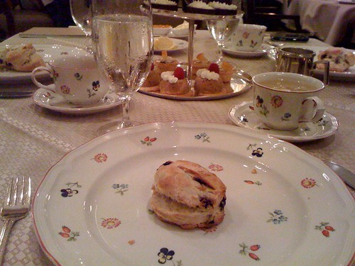 Afternoon Tea at the Peabody Hotel