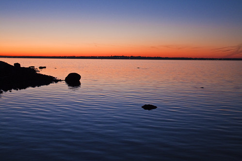 Sunset Across Narragansett Bay II
