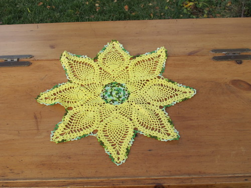Sunflower Doily
