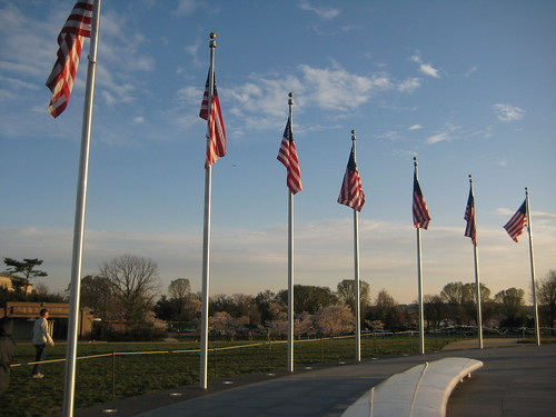 Flags Around the Monument