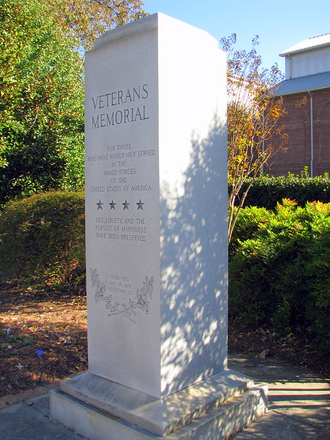 Kennesaw, GA Veterans Memorial
