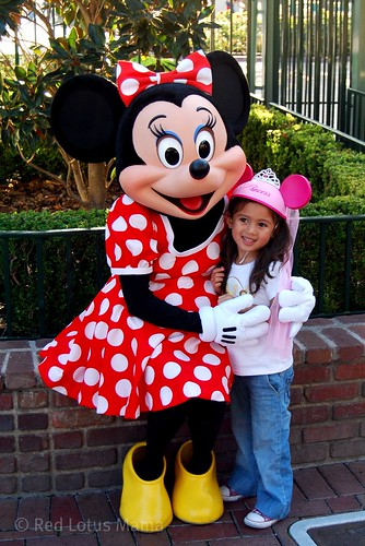 Minnie Mouse with Mini Me