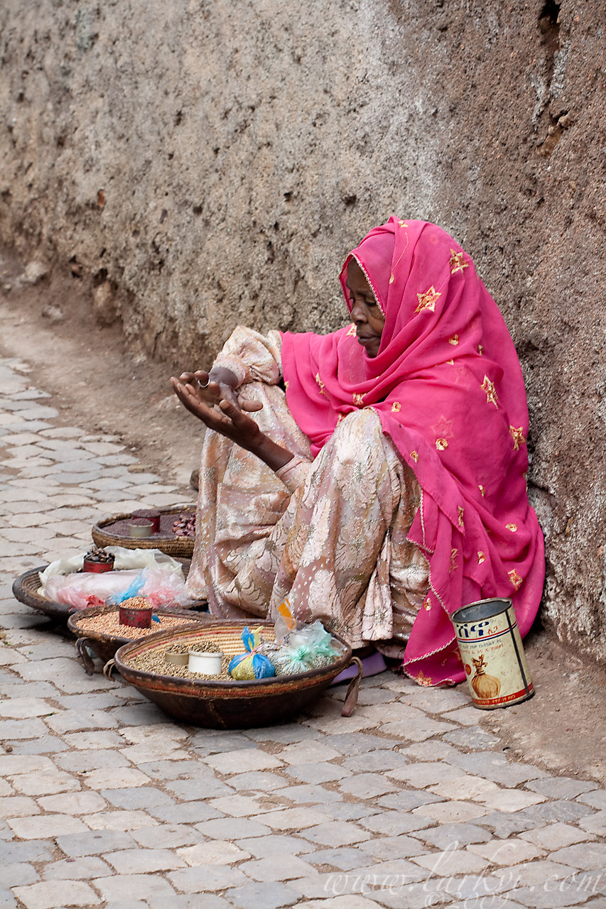Street Seller, Harar, Ethiopia, 2009