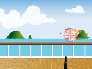free Baby Boomers Cash Cruise slot Skeet Shooting Bonus Round