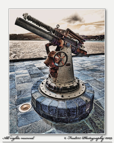 Scarboroughs 1914 Vickers Pattern 13 PDR gun