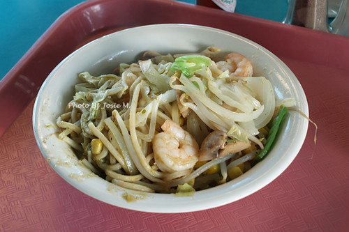 Mongolian BBQ with thai spice and shrimp