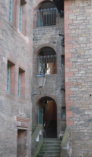 Open Stairwell At Well Court