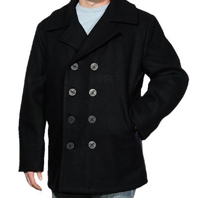 Schott Classic Wool Pea Coat
