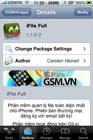 Cach lay file deb   Iphone