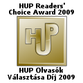 HUP Olvasók Választása Díj 2009 Logo