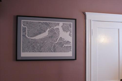 Map, Hanging