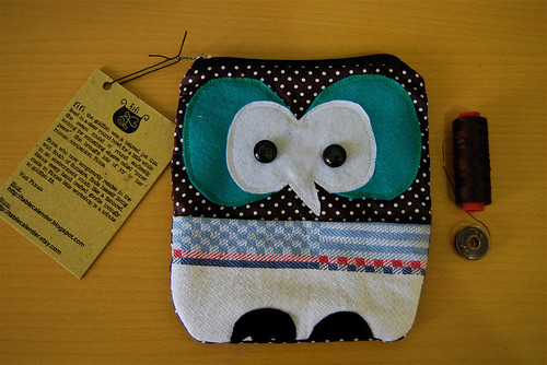 barn owl purse