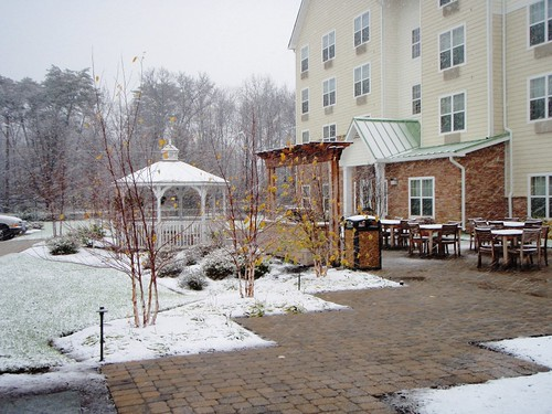 5 Dec 09 1 PM Snow in Washington DC