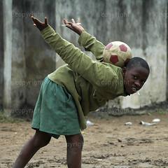 Richard Mulonga  Street soccer (Africa Media Online) Tags: football soccer lagos nigeria worldcup 2010