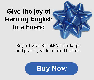 Give the joy of learning English to a friend