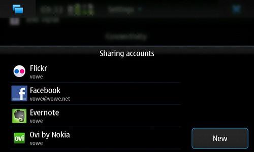 Maemo sharing