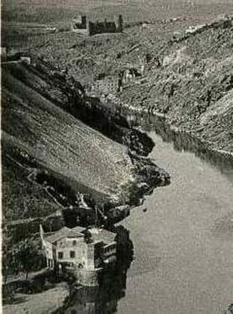 Casa del diamantista hacia 1900. Foto Roisin