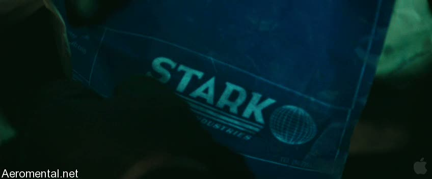 Iron Man 2 Trailer 2 Stark industries blueprints