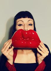 baciami giuda (Alessia Zorzoli _Lady Vertigo_) Tags: model occhi bacio amica baciami labbra gheisha jappo paoletta