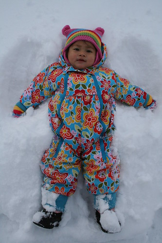 1st Snow Angel