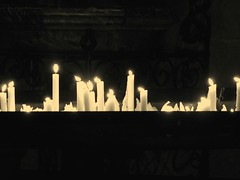 Candles I (guidolo) Tags: light church sepia dark hope abend candle nacht dom kathedrale kirche kerze dunkel hoffnung