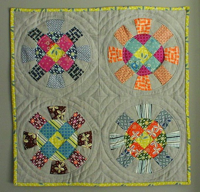 My Doll Quilt from katiejeanbags