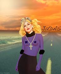 Fame Hooker (Raul Desings) Tags: music art lady video hey raul britney judas kp gaga blend