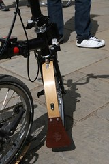 Lovely custom mudguards (marcus_jb1973) Tags: bicycle bikes bwc folding brompton 2011 bromptonday