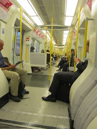 New Air Conditioned Metropolitan Line Train