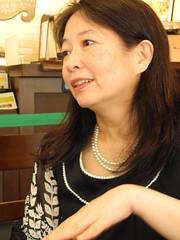 旅日作家劉黎兒經歷311核災之後,堅決反核,並不斷發表反核文章。