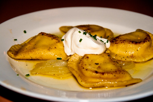 Traditional Pierogies at Church Brew Works