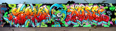 Skore Dose 2011 'Word Up!' (SkoreTRClique) Tags: graffiti lakeside dose skore